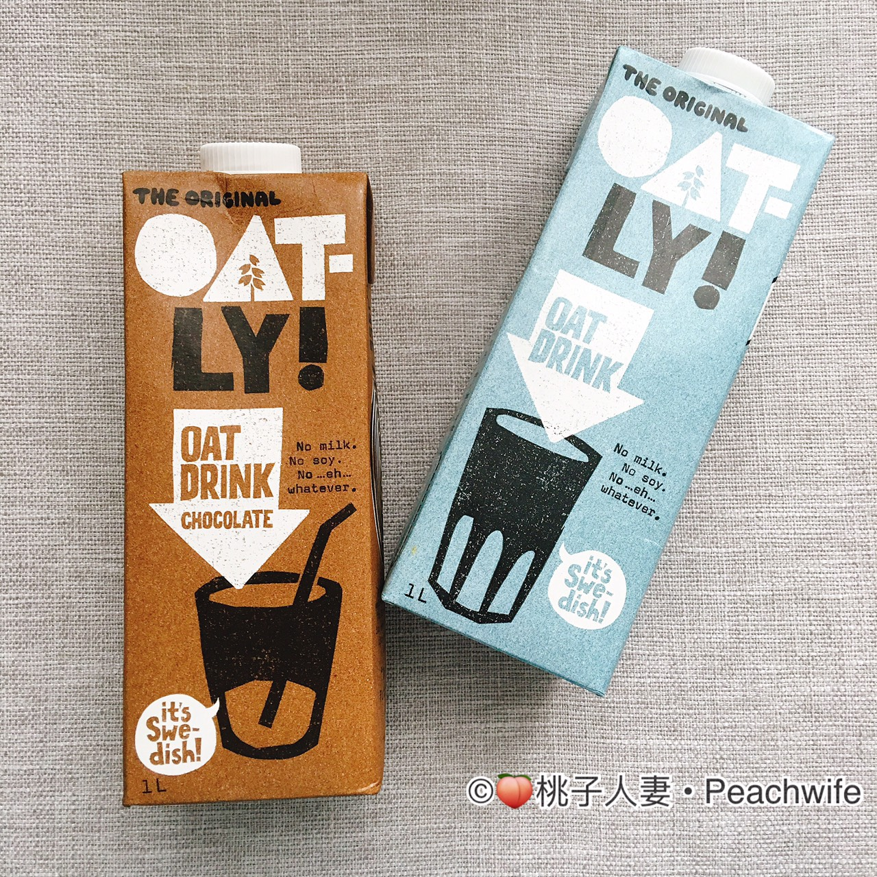 Oatly oat drink chocolate